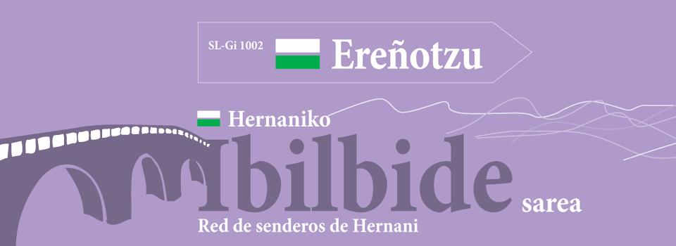 Red de senderos: Ereñotzu